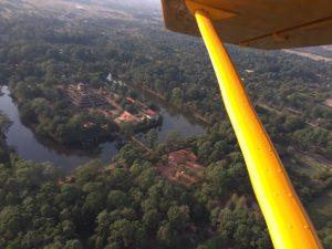 Siem Reap Tempel Flug